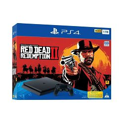 PlayStation 4 1TB Slim F chassis + Red Dead Redemption 2