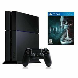 PlayStation 4 500GB Black C chassis + Until Dawn