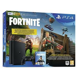 PlayStation 4 500GB E chassis + Fortnite Voucher