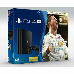 PlayStation 4 Pro 1TB A chassis + FIFA 18 Deluxe Edition + 14 Days PS Plus