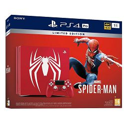 PlayStation 4 Pro 1TB B chassis Special Edition + Spider-Man