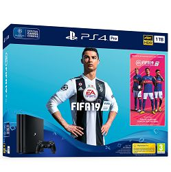 PlayStation 4 Pro 1TB B chassis + FIFA 19 Standard Edition + 14 Days PS Plus