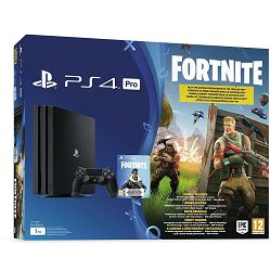 PlayStation 4 Pro 1TB B chassis + Fortnite Voucher