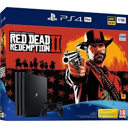 PlayStation 4 Pro 1TB G chassis + Red Dead Redemption 2