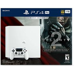 PlayStation 4 Pro A chassis White + Destiny 2