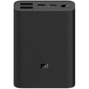 Power Bank Xiaomi Mi 3 Ultra Compact, 10.000 mAh, 22.5W Fast Charging, USB-C, crni