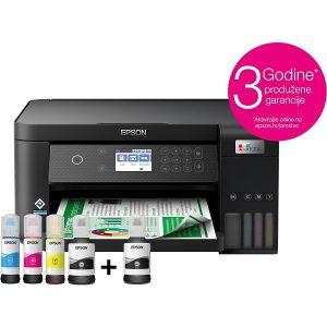 Printer Epson EcoTank L6260, ispis, kopirka, skener, Duplex, WiFi, USB, A4 - PROMO