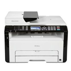 Printer RICOH SP 220 SNW, Mono Laser MFMono Laser MF, Print, Scan & Copy, Network and WiFi. A4