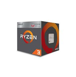 Procesor  AMD CPU Desktop Ryzen 3 4C/4T 2200G (3.7GHz,6MB,65W,AM4) box, RX Vega Graphics, with Wraith Stealth cooler YD2200C5FBBOX