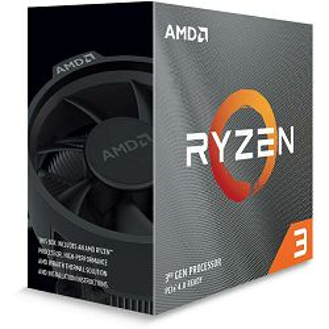 Procesor AMD Ryzen 3 3100 BOX, 3.60GHz, 4 jezgre, s. AM4 - PROMO
