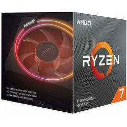 Procesor AMD Ryzen 7 3700X (8C/16T, 4.4GHz, 32MB, AM4), with Wraith Prism cooler - PROMO