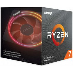 Procesor AMD Ryzen 7 3800X (8C/16T, 4.5GHz, 32MB, AM4), with Wraith Prism cooler - MAXI PONUDA
