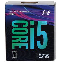 Procesor Intel Core i5 8400 2.8GHz, 9MB, LGA 1151, BX80684I58400, Tray