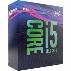 Procesor Intel Core i5 9600K (3.7GHz, 9MB, LGA1151) box BX80684I59600KSRELU