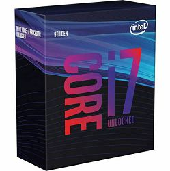 Procesor Intel Core i7-9700K (12MB Cache, 3.60GHz), boxed without cooler, BX80684I79700K - PROMO