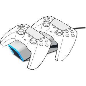 PS5 punjač SPEEDLINK Twindock, za 2 kontrolera