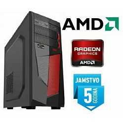 Računalo INSTAR Gamer Cyber, AMD A4 7300 3.8GHz, 8GB, 1TB HDD, AMD Radeon R7 250 2GB DDR5, 5 god jamstvo - AKCIJA