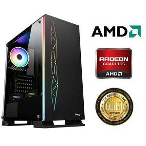 Računalo INSTAR Gamer Diablo 3600, AMD Ryzen 5 3600 up to 4.2GHz, 8GB DDR4, 256GB NVMe SSD + 1TB HDD, AMD RADEON RX5500 XT 8GB, DVD-RW, 5 god jamstvo