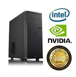 Računalo INSTAR Gamer Diamond, Intel Core i3 8100 3.6GHz, 8GB DDR4, 1TB HDD, NVIDIA GeForce GTX1050Ti 4GB, DVD-RW, Win 10 Home, 5 god jamstvo - AKCIJA