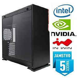 Računalo INSTAR Gamer Hurricane TS, Intel Core i5-8500 up to 4.1GHz, 8GB DDR4, 1TB HDD, NVIDIA GeForce GTX1070 8GB, no ODD, 5 god jamstvo