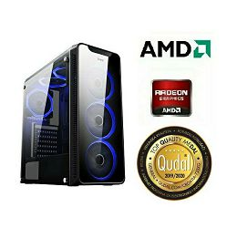 Računalo INSTAR Gamer HYDRA, Ryzen 3 2200G up to 3.7GHz, 8GB DDR4, 1TB HDD + 120GB SSD, AMD RADEON RX560 4GB, no ODD, 5 god jamstvo