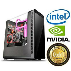 Računalo INSTAR Gamer Prime 1050Ti, Intel Core i3 8100 3.6GHz, 8GB DDR4, 1TB HDD + 120GB SSD, NVIDIA GeForce GTX1050Ti 4GB, no ODD, 5 god jamstvo