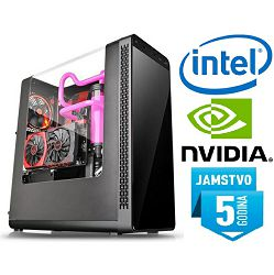Računalo INSTAR Gamer Prime 1050Ti, Intel Core i3 8100 3.6GHz, 8GB DDR4, 1TB HDD, NVIDIA GeForce GTX1050Ti 4GB, no ODD, 5 god jamstvo