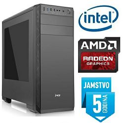 Računalo INSTAR Gamer Ultra 560, Intel Core i3 8100 3.6GHz, 8GB DDR4, 1TB HDD, AMD Radeon RX560 2GB, DVD-RW, 5 god jamstvo