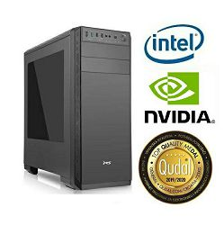 Računalo INSTAR Gamer Ultra, Intel Core i3 8100 3.6GHz, 4GB DDR4, 1TB HDD, NVIDIA GeForce GTX1050 2GB, DVD-RW, 5 god jamstvo