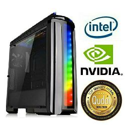 Računalo INSTAR Gamer Zeus Master, Intel Core i7-9700K up to 4.9GHz, 8GB DDR4, 120GB SSD + 1TB HDD, NVIDIA GeForce GTX1060 6GB, no ODD, 5 god jamstvo