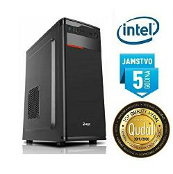Računalo INSTAR Manager MT G6400, Intel Pentium G6400 4.0GHz, 8GB DDR4, 250GB NVMe SSD, Intel UHD Graphics 610, DVD-RW, Win 10, 5 god jamstvo