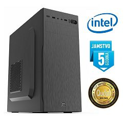 Računalo INSTAR Master 10100, Intel Core i3 10100 up to 4.30GHz, 8GB DDR4, 250GB NVMe SSD + 1TB HDD, Intel UHD Graphics 630, DVD-RW, 5 god jamstvo