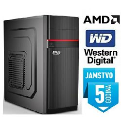Računalo INSTAR Master A6 9500, AMD A6 up to 3.8GHz, 4GB DDR4, 1TB HDD, AMD Radeon R5 Series, DVD-RW, 5 god jamstvo