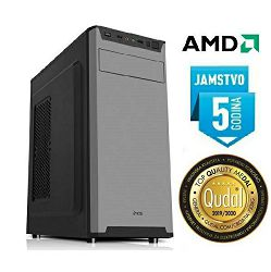 Računalo INSTAR Master A6 9500, AMD A6 up to 3.8GHz, 8GB DDR4, 1TB HDD, AMD Radeon R5 Series, DVD-RW, 5 god jamstvo - MAXI PONUDA