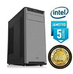 Računalo INSTAR Master G5400, Intel Pentium G5400 3.7GHz, 4GB DDR4, 120GB SSD, Intel UHD Graphics 610, DVD-RW, 5 god jamstvo - BEST BUY