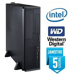 Računalo INSTAR Office SFF, Intel Pentium G4500 3.5GHz, 4GB, 1TB, Intel HD Graphics 530, DVD-RW, 5 god jamstvo
