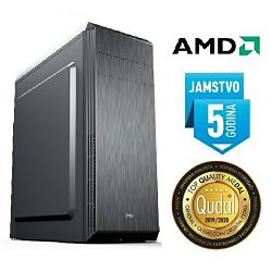 Računalo INSTAR Orion VEGA, AMD Ryzen 3 3200G up to 4.0GHz, 8GB DDR4, 250GB NVMe SSD, AMD Radeon Vega 8 Graphics, DVD-RW, 5 god jamstvo