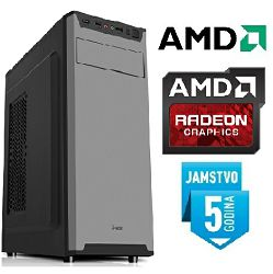 Računalo INSTAR Play A8 9600, AMD A8 9600 up to 3.4GHz, 8GB DDR4, 1TB HDD, AMD Radeon R7 Graphics, DVD-RW, 5 god jamstvo