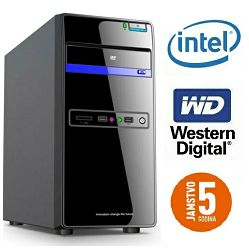 Računalo INSTAR Starter G3930, Intel Dual-Core G3930 2.8GHz, 4GB DDR4, 1TB HDD, Intel HD Graphics 610, DVD-RW, 5 god jamstvo