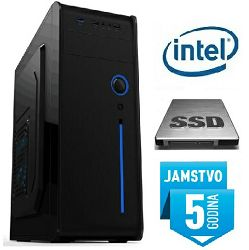 Računalo INSTAR Starter G3260, Intel Pentium G3260 3.3GHz, SSD 240GB, 4GB DDR3, Intel HD Graphics, DVD-RW, 5 god jamstvo