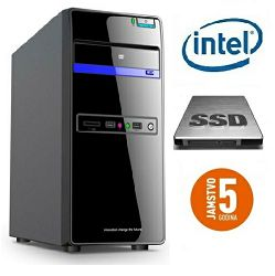 Računalo INSTAR Starter J9000 Plus, Intel Quad-Core up to 2.42GHz, Intel HD Graphics, 4GB, 120GB SSD + 1000GB HDD, 5 god jamstvo