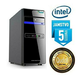 Računalo INSTAR Starter J9000 Plus, Intel Quad-Core up to 2.42GHz, 4GB DDR3, 120GB SSD + 1TB HDD, Intel HD Graphics, no ODD, 5 god jamstvo - AKCIJA