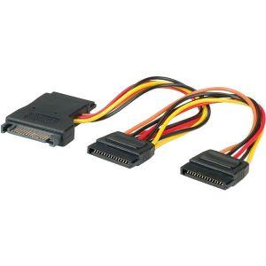 Kabel Roline interni Y-naponski, SATA na 3×SATA