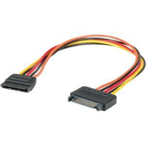 Kabel Roline SATA naponski, produžni, 30cm