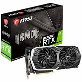 Grafička MSI NVIDIA GeForce RTX 2070 GDDR6 8GB/256bit, 1410MHz/14000MHz, PCI-E 3.0 x16, 3xDP, HDMI, USB Type-C, ARMOR 2X Cooler(Double Slot) RGB Mystic Light, Backplate, Retail