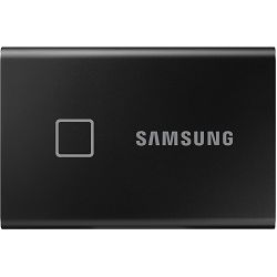 Eksterni SSD Samsung T7 Touch 500GB, Read/Write: 1050/1000 MB/s, USB Type C-to-C and Type C-to-A cables, USB 3.2, black