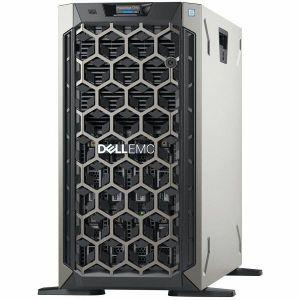 Server Dell PowerEdge T340, Intel Xeon E-2124 3.3GHz, 8M cache, 4C/4T, turbo, 3.5