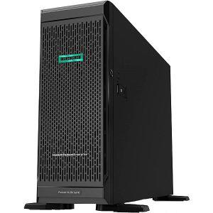 Server HP  ProLiant ML350 Gen10 Tower Intel Xeon-S 4210 10-Core (2.20GHz14MB) 16GB (1 x 16GB) PC4-2933Y-R DDR4 RDIMM 8 x Hot Plug 2.5in SmallForm Factor Smart Carrier Smart Array P408i-a SR 800W