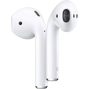 Slušalice APPLE AirPods 2, bežične s kutijicom za punjenje (mv7n2zm/a) - PROMO
