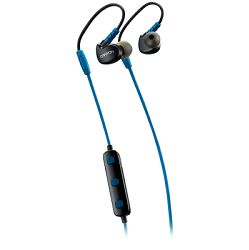 Slušalice Canyon Bluetooth sport with microphone, 0.3m cable, blue, handsfree